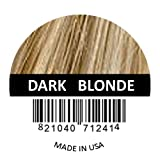 Hair Fibers by Samson Best Hair Loss Concealer Building Fibers Containers & Refills for all brand names Made in USA (Dark Blond Refill)