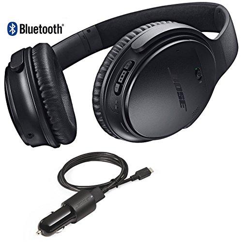 Bose QuietComfort 35 Bluetooth Wireless Noise Cancelling Headphones - Black & Car...