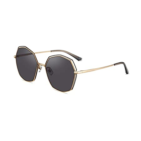 Shengshihuizhong 2019 New Trend Polygon Sunglasses Gafas de ...