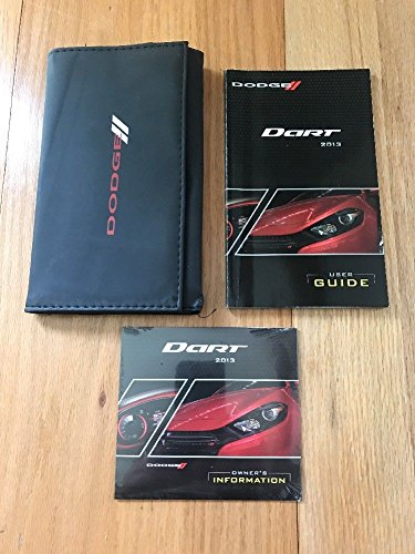 2013 Dodge Dart Owner's Manual With CD And Case