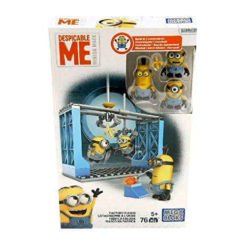 - Mega Bloks Despicable Me Factory Fiasco