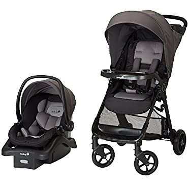 Safety 1st Smooth Ride Car Seat & Stroller Travel System, Monument (TR378EEL)