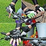 HASAGEI-Guanti-da-ciclismo-senza-dita-per-mountain-bike-ciclismo-palestra-fitness-uomo-e-donna-Mezzo-nero-M