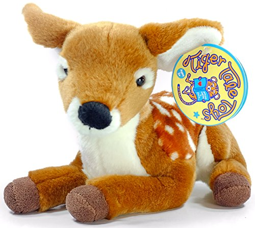 Bambi Costume Girl (Debbie the Baby Deer | 10 Inch Fawn Stuffed Animal Plush | By Tiger Tale Toys)