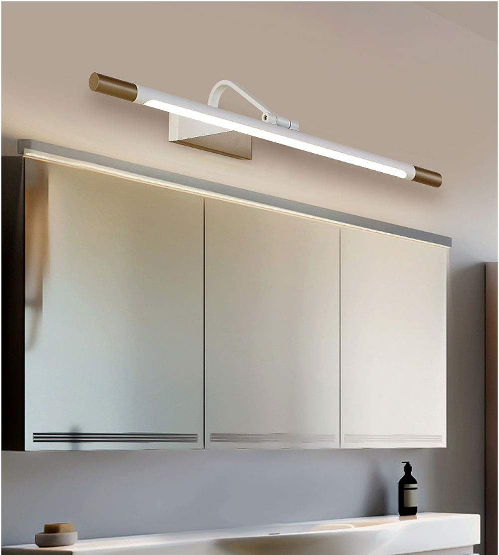 Amazon.com: Mirror Headlamp Nordic Toilet Mirror Cabinet Led ...