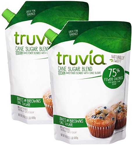 Truva Cane Sugar Blend 24 oz - Pack of 2