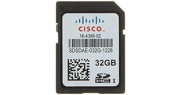 Amazon.com: Cisco – Tarjeta de memoria 32 GB – SD – Flash ...
