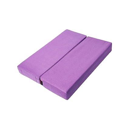 Estera gruesa de la yoga de la almohadilla plegable de la ...
