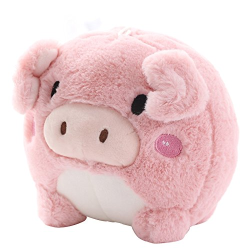 15cm Adorable Pig Plush Toy Soft Stuffed Animal Doll Birthday and Christmas Gifts