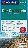 Der Dachstein, Ramsau, Filzmoos: 4in1 Wanderkarte 1:25000 mit Panorama und Aktiv Guide inklusive Karte zur offline Verwendung in der KOMPASS-App. ... Skitouren. (KOMPASS-Wanderkarten, Band 31)