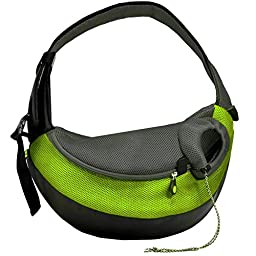 Crazy Paws Pet Sling Large Green