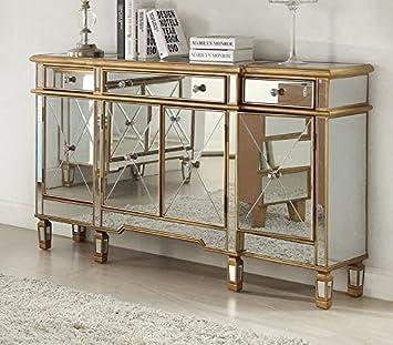 Amazon De Derrys Imperial Gold Venezianische Sideboard 3 Schubladen