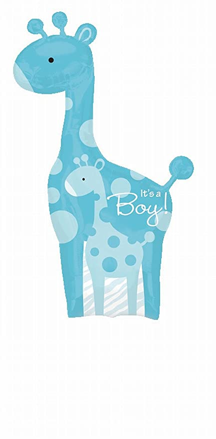 Amazoncom Anagram Sweet Safari Its A Boy Giraffe Baby Shower 42