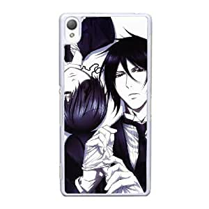 Sony Xperia Z3 Cell Phone Case White Black Butler AS7YD3594916