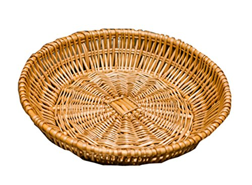 Garden Time Wicker Basket Fruit Basket Bread Tray Storage Basket, Set of 1