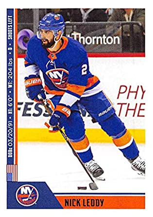 2018-19 Panini NHL Stickers Collection  145 Nick Leddy New York Islanders  Official Hockey 5c3825cc0
