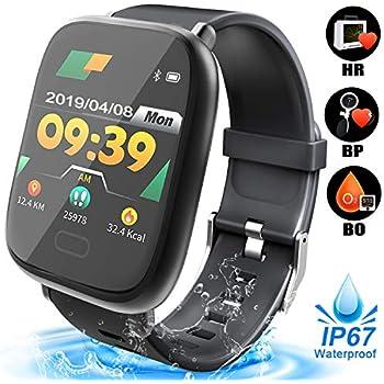 Amazon.com: Duperym Smart Watch for Men Women IP67 ...