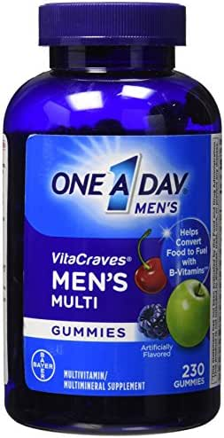 One A Day Multi Gummies, Men, 230 Count, Pack of 1
