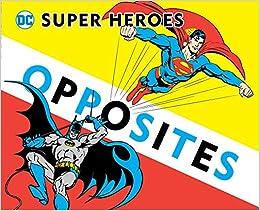 Super Heroes Book Of Opposites por David Bar Katz
