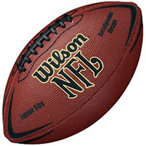 WILSON  Football NFL FORCE JUNIOR, Brown, One Size, WTF1443X