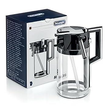 Recipiente para leche con tapa para máquinas de café automática tipo: DeLonghi ESAM 5500, ESAM 5600, ESAM 5700, ESAM 6620, ESAM 6650, ...