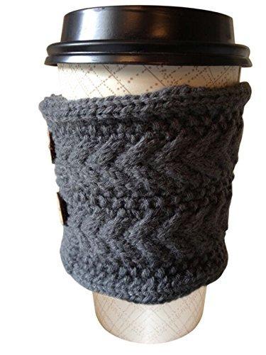 Hug Your Mug Cup Cozy, Reusable Coffee Sleeve Hand Protector Drink Grip for Paper Cups by Hug Your Mug (Image #5)