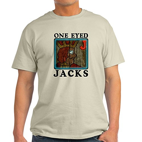 CafePress Twin Peaks One Eyed Jacks T Shirt 100% Cotton T-Shirt Cotton One Eyed Jack