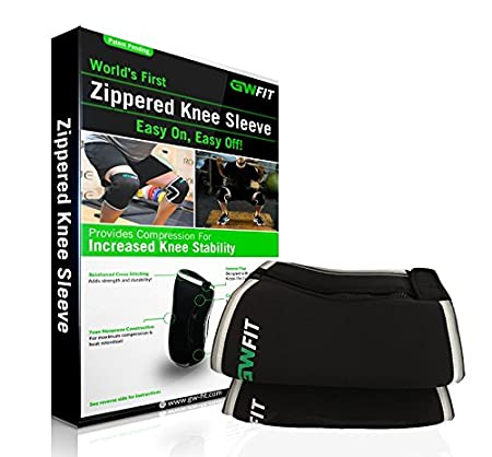 f265217781 Amazon.com: GW Fit Zippered Knee Sleeves - Easy to Use - Perfect for  Weightlifting, Crossfit and More, X-Large: Health & Personal Care