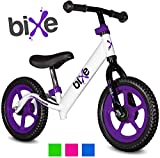 """Purple (4LBS) Aluminum Balance Bike for Kids and Toddlers - 12"""" No Pedal Sport Training Bicycle for Children Ages 3,4,5,6. Compare Bixe to Strider Balancing Bikes -  Fox Air Beds"""