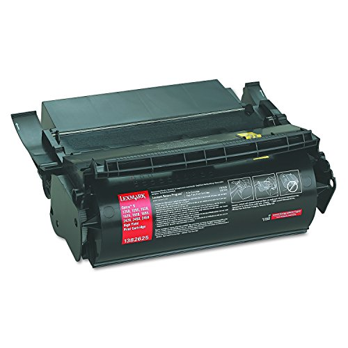 Lexmark 1382625 High-Yield Toner, 17600 Page-Yield, Black - Optra S1650 Laser Printer