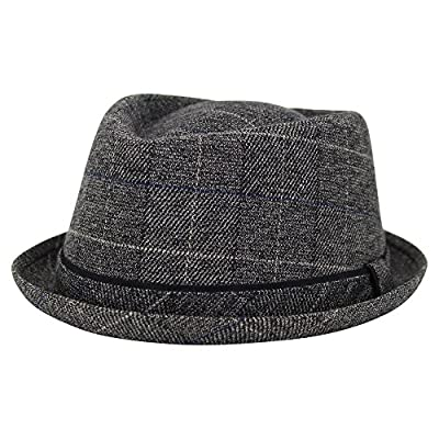 Men's Short Brim Fedora Hat
