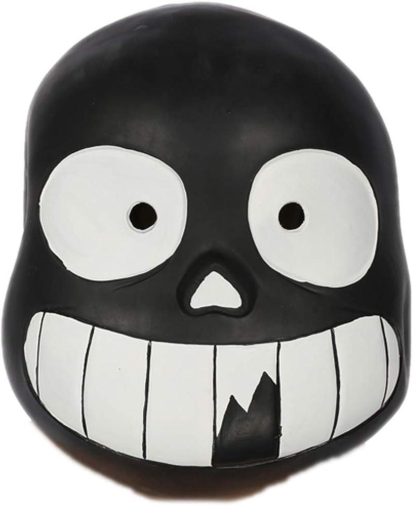 Cosplayrim Undertale Sans Mask Soft Resin Full Head Helmet Halloween White Eyes Amazon Co Uk Clothing