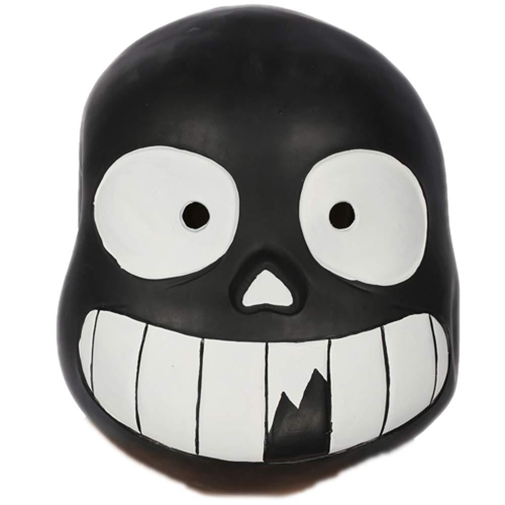 CosplayRim Undertale Sans Mask Soft Resin Full Head Helmet Halloween White  Eyes