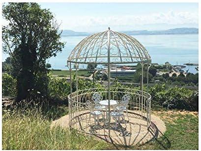 Gran carpa Kiosko de jardín pérgola refugio redondo Gloriette ...