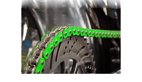 spez ialver Cadena reforzada verde para Suzuki L 450: Amazon ...
