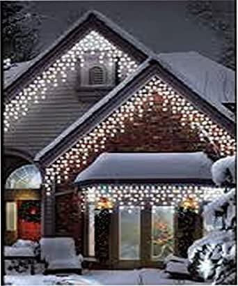 960 LED White Icicle Chaser Light Outdoor Indoor Christmas Xmas