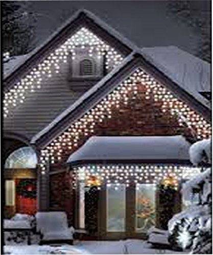 960 led white icicle chaser light outdoor indoor christmas xmas 960 led white icicle chaser light outdoor indoor christmas xmas wedding 8 function lights mozeypictures Image collections
