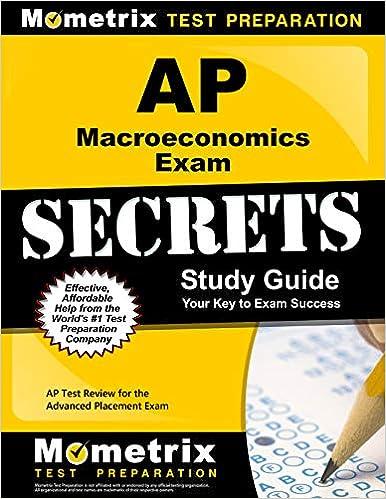 AP Macroeconomics Exam Secrets Study Guide: AP Test Review for the Advanced Placement Exam
