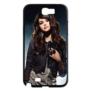 Unique Design -ZE-MIN PHONE CASE For Samsung Galaxy Note 2 Case -Beautiful Selena Gomez Pattern 1