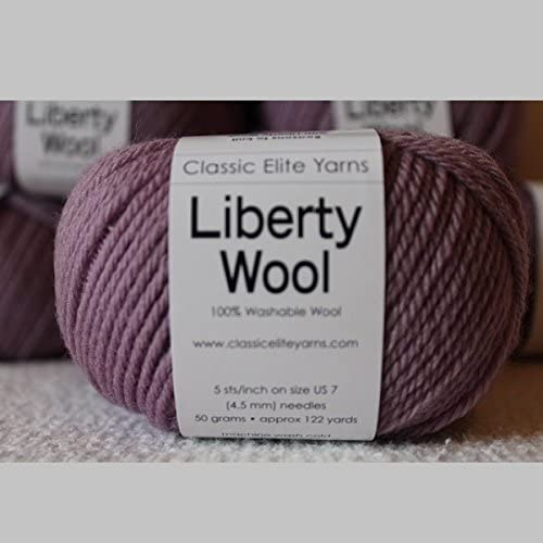 Classic Elite Yarns Liberty Wool Print  Machine Wash Soft Great for Kids Select