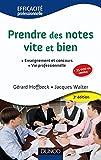 Prendre des notes vite et bien - 3e édition - NP: Enseignement et concours - Vie professionnelle