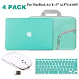 Turquoise Matte Hard Case for MacBook Air 11.6