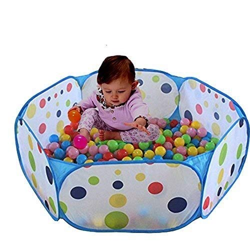Kids Ball Pit, TD Large Pop Up Toddler Ball Pits Tent for Toddlers, Children for Indoor Outdoor Baby Playpen with Zipper Storage Bag, Balls Not Included Travel Dream