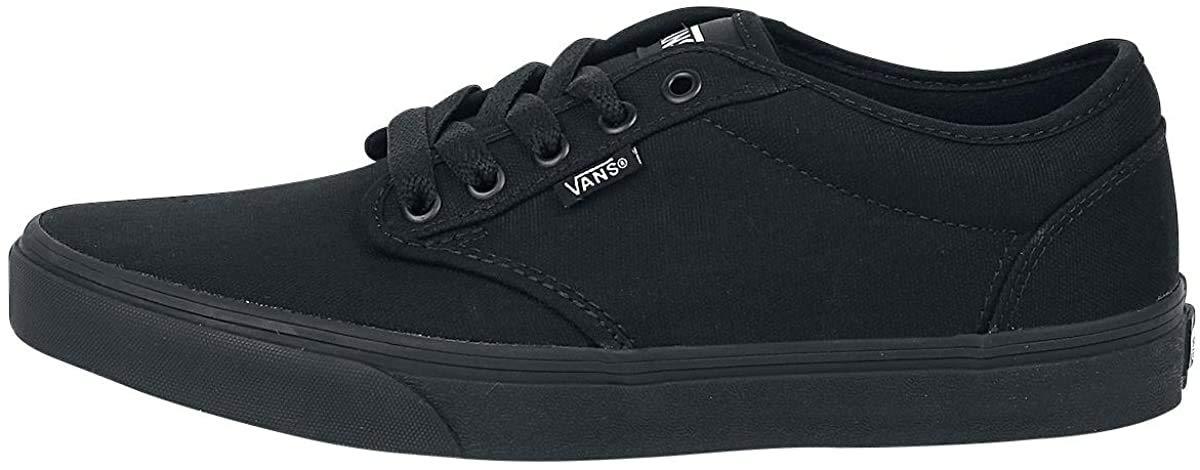 Vans Atwood VKC46EZ - Zapatillas clásicas de Tela para Hombre, Color Negro, Talla 40.5: Amazon.es: Zapatos y complementos