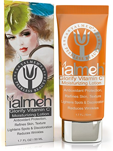 YALMEH Glorify Vitamin C Moisturizing Lotion,BEST Facial Moisturizer,Natural Lotion,Effective Lightweight Moisturizer For All Types of Skin.