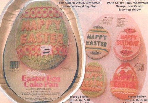 Wilton Easter Egg Happy Easter Egg Cake Pan 502-3495, 1983