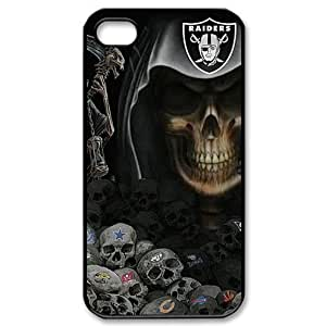 NFL Oakland Raiders iPhone 4 and 4s Fitted Case Raiders logo