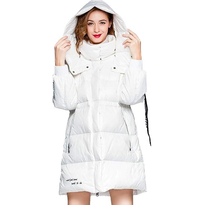 RSTJ-Sjc Abrigo grueso con capucha, chaqueta de mujer, diseño delgado, estilo