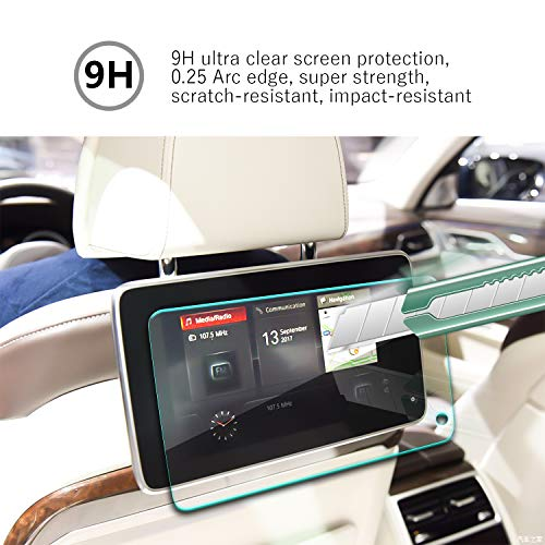 YEE PIN 2017 2018 2019 5serie G30 530i 520d 530d iDrive NBT 10.2Inch Video Screen Protector, Feel Silky Anti-Explosion Scratch Resistance Easy to Clean and High Definition Navigation Film