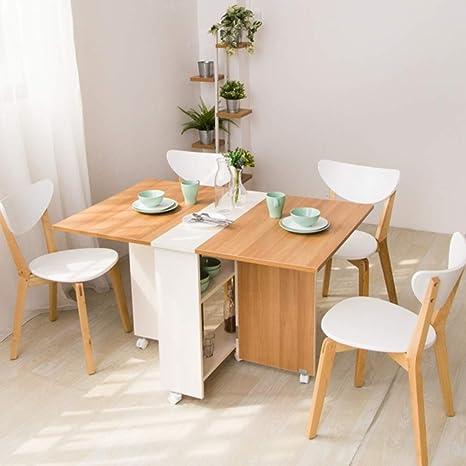 Tavolo Da Cucina Pieghevole Con Ruote.Tavolo Pieghevole 1 2 M Rettangolare Semplice Tavolo Mobile